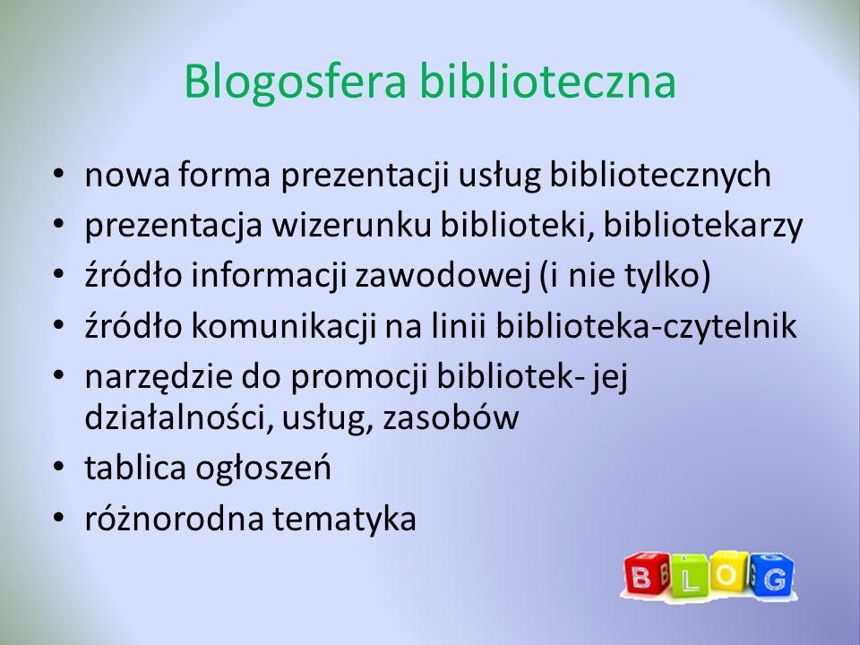 Blogosfera biblioteczna