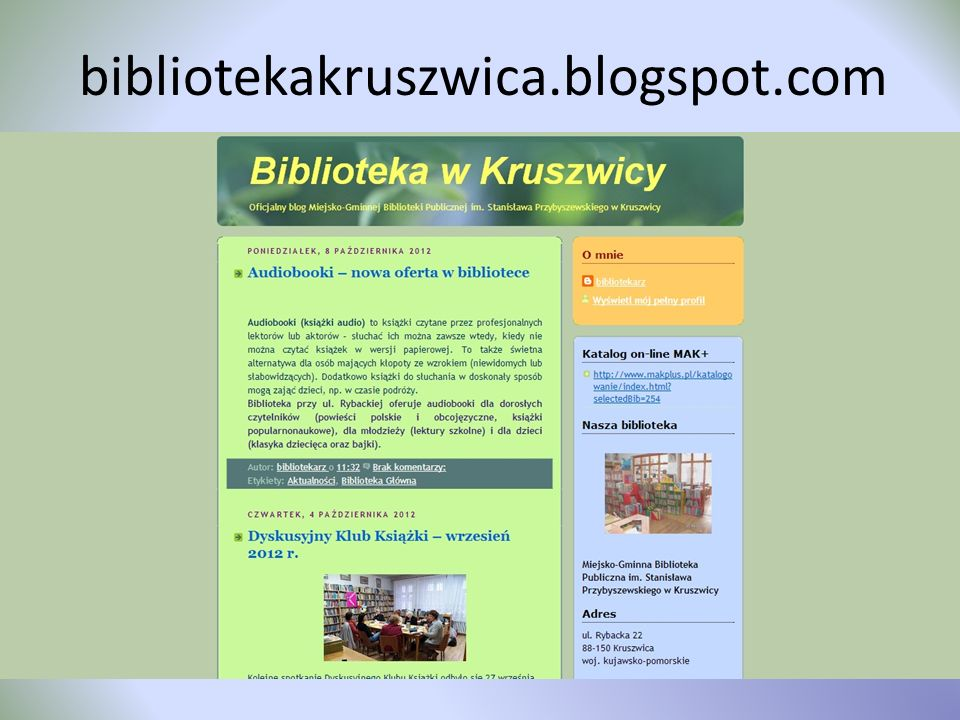 bibliotekakruszwica.blogspot.com