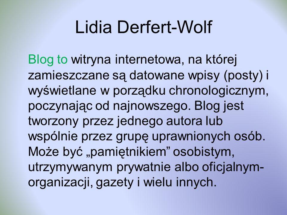Lidia Derfert-Wolf
