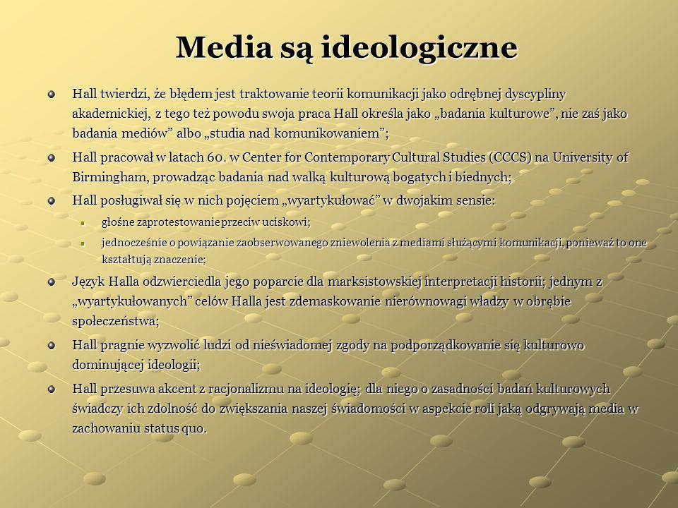 Media są ideologiczne