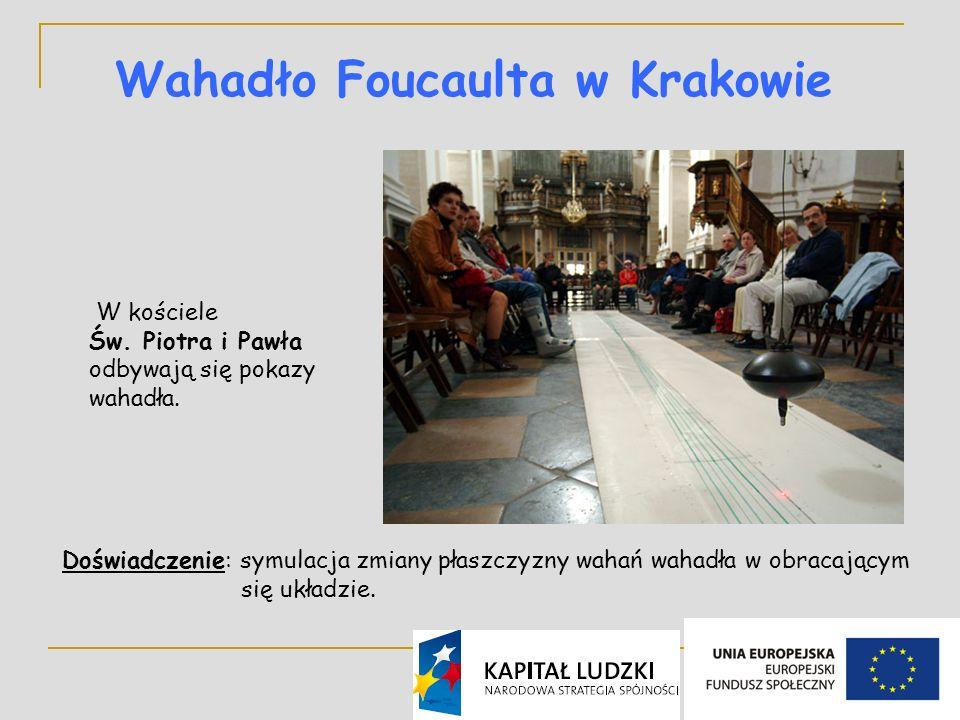Wahadło Foucaulta w Krakowie