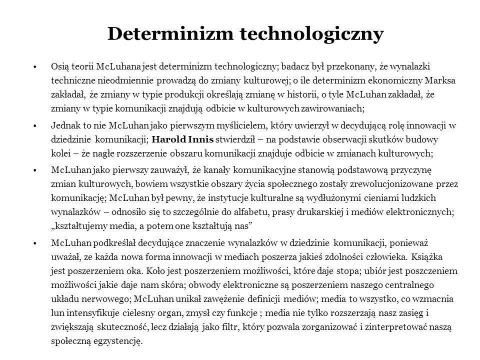Determinizm technologiczny