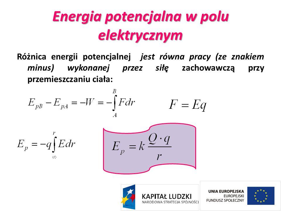 Energia potencjalna w polu elektrycznym