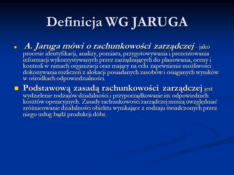 Definicja WG JARUGA