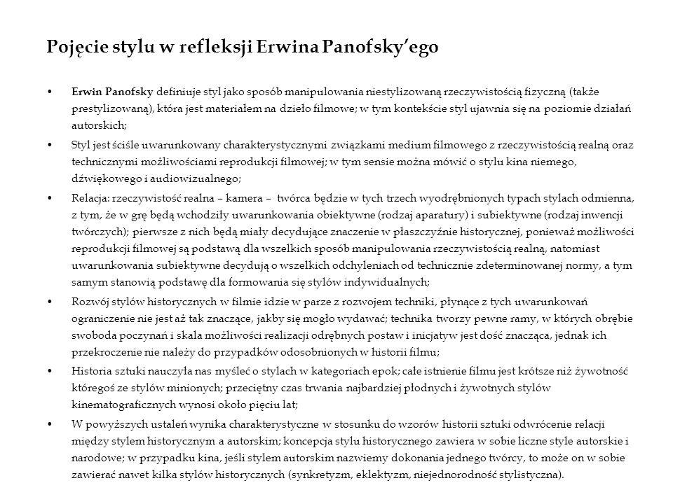 Pojęcie stylu w refleksji Erwina Panofsky'ego