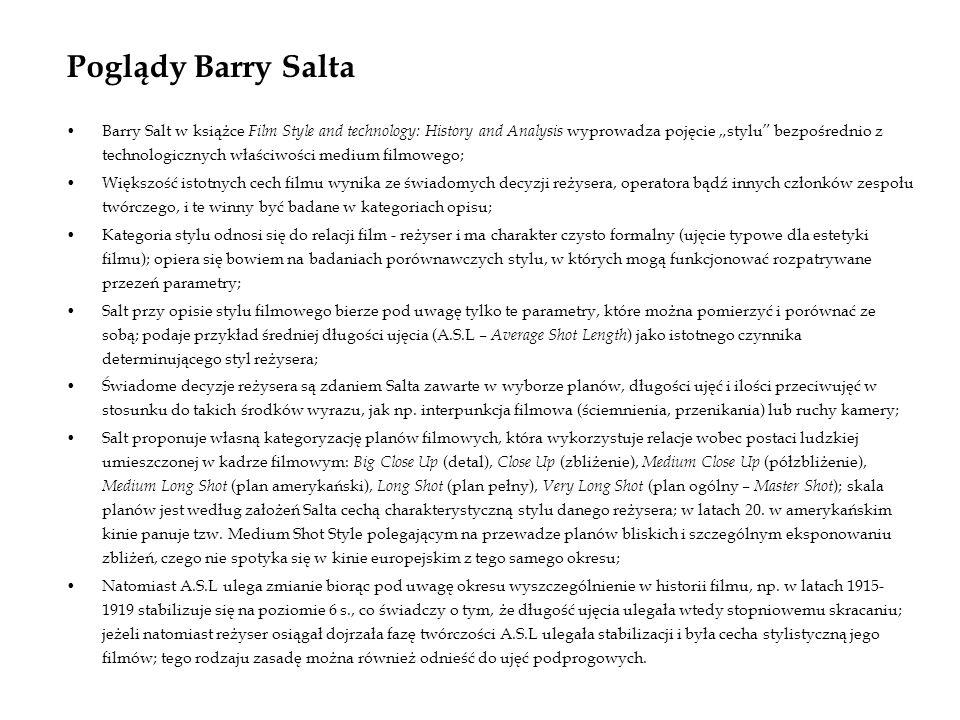 Poglądy Barry Salta