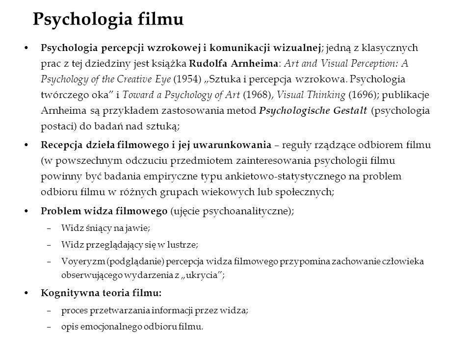 Psychologia filmu