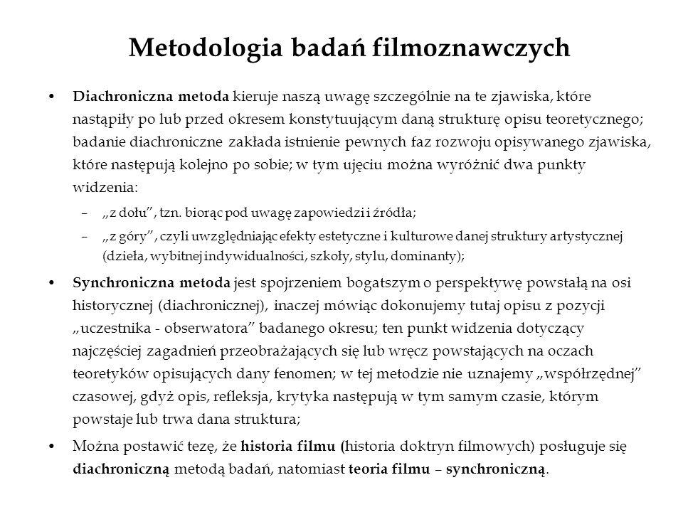 Metodologia badań filmoznawczych