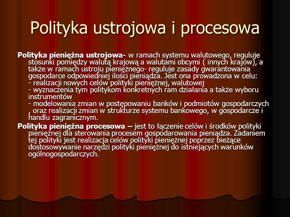 Polityka ustrojowa i procesowa