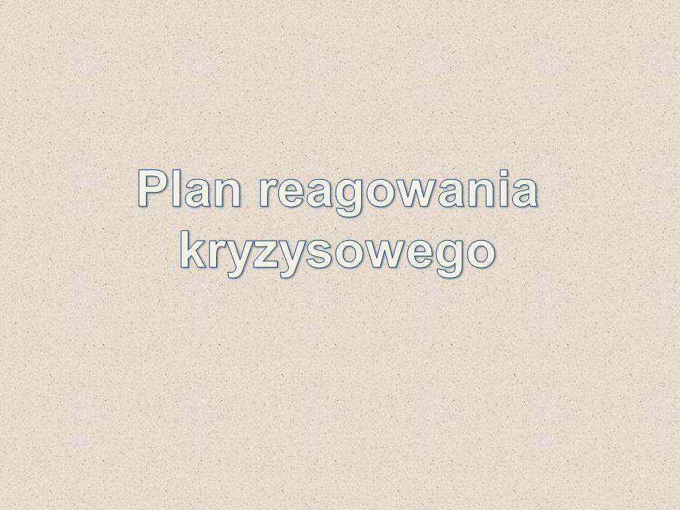 Plan reagowania kryzysowego