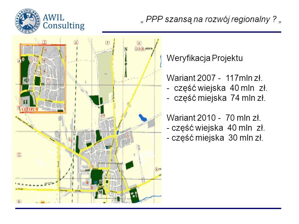 """"""" PPP szansą na rozwój regionalny """""""