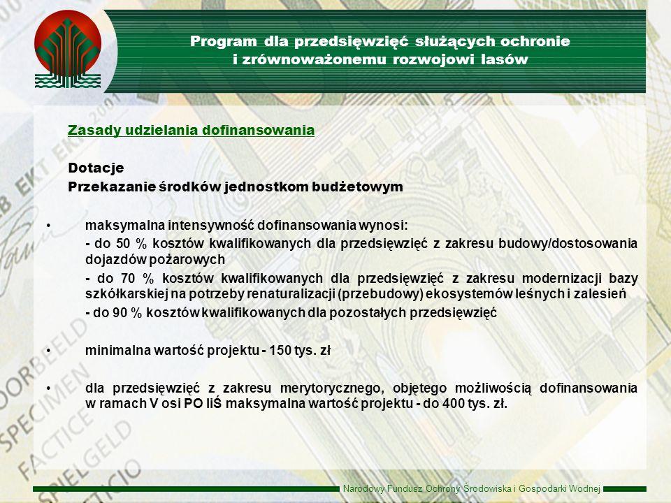 Program dla przedsięwzięć służących ochronie i zrównoważonemu rozwojowi lasów