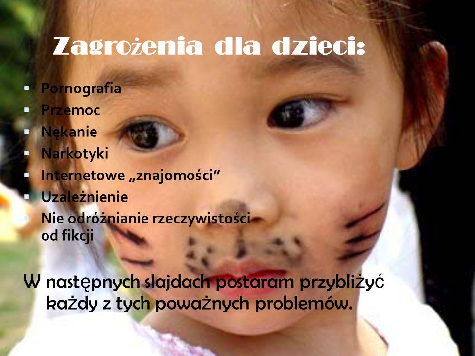 Zagrożenia dla dzieci:
