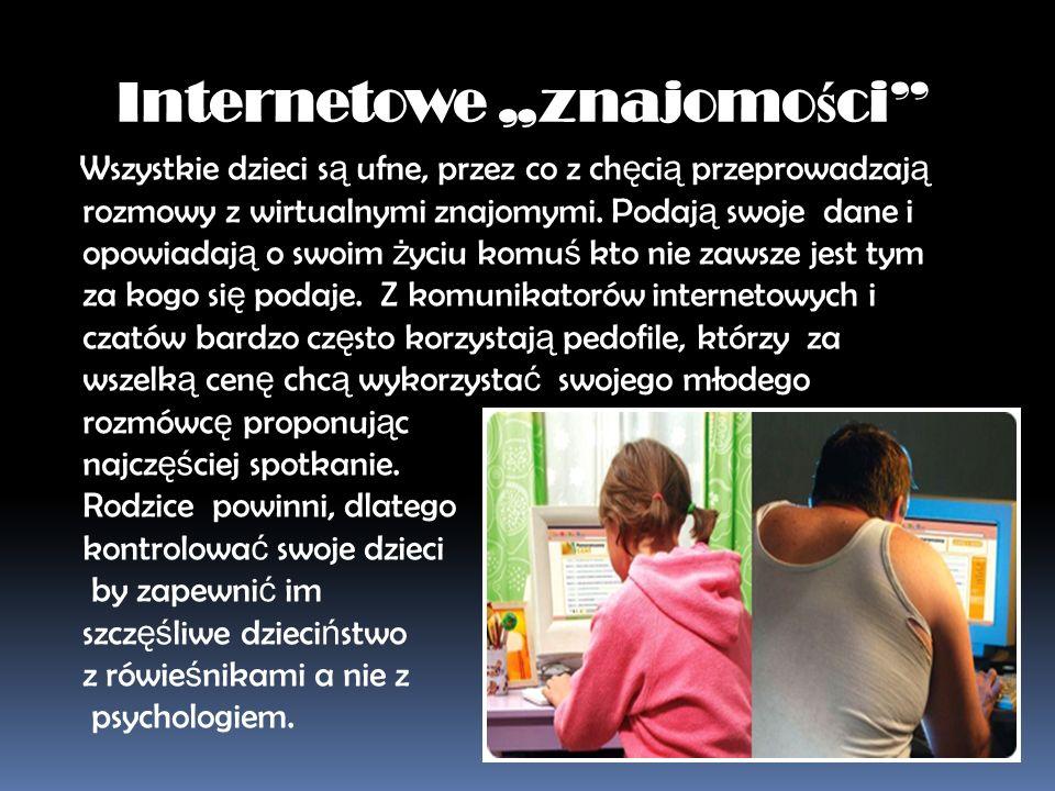 """Internetowe """"znajomości"""