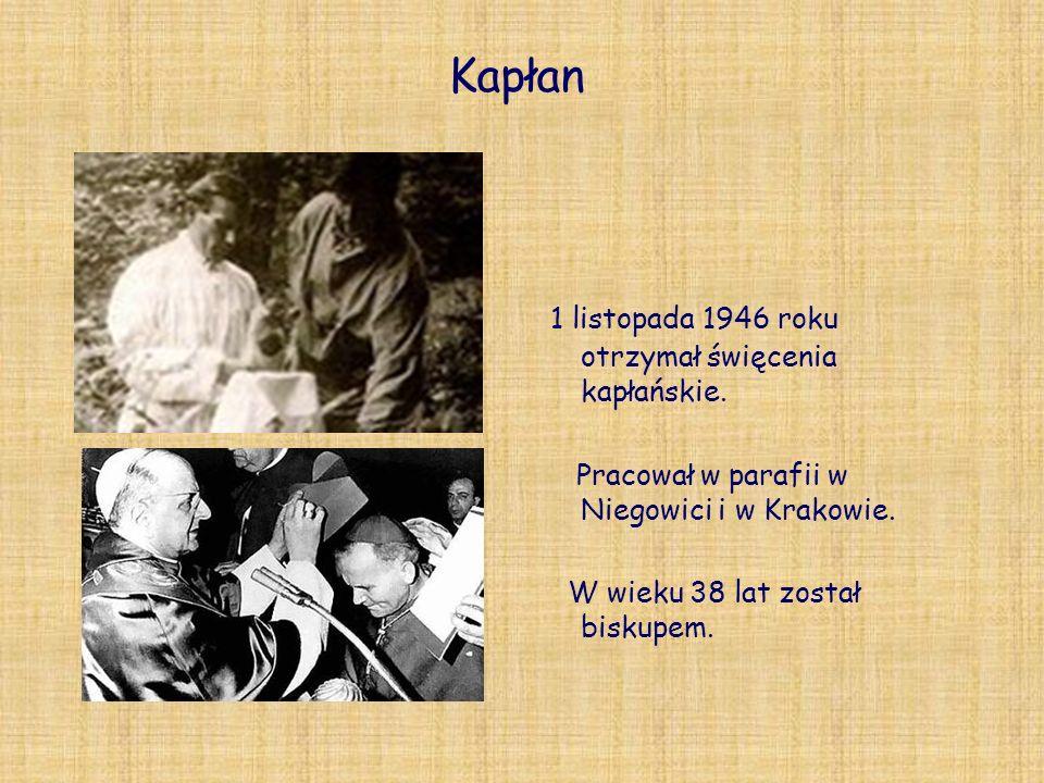 Kapłan 1 listopada 1946 roku otrzymał święcenia kapłańskie.