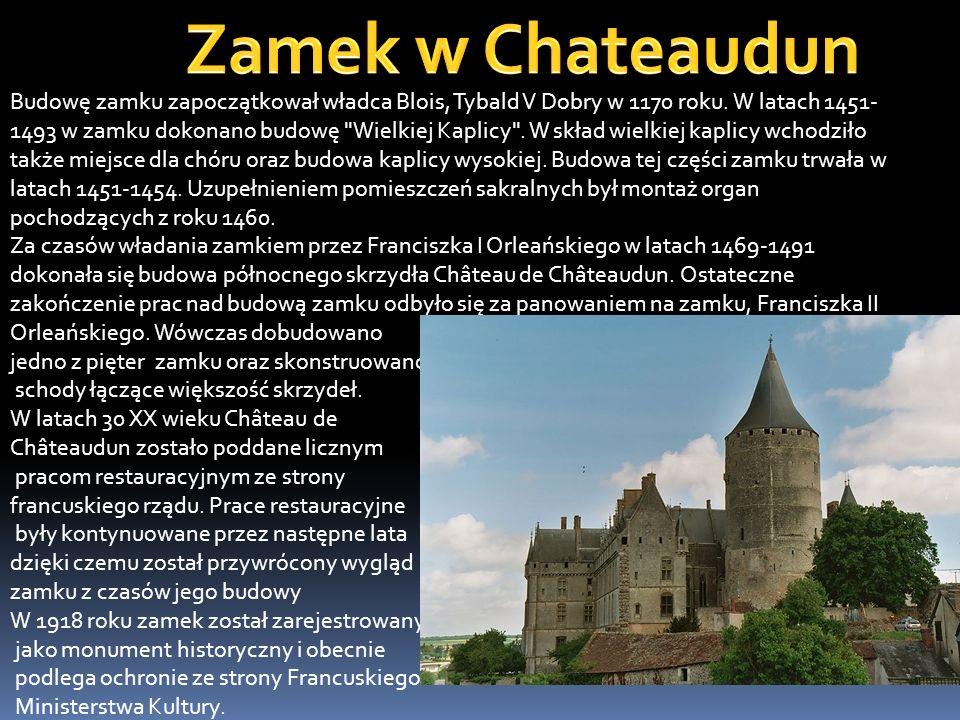 Zamek w Chateaudun