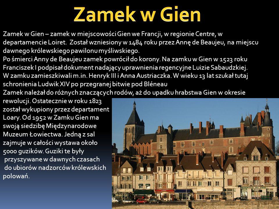 Zamek w Gien