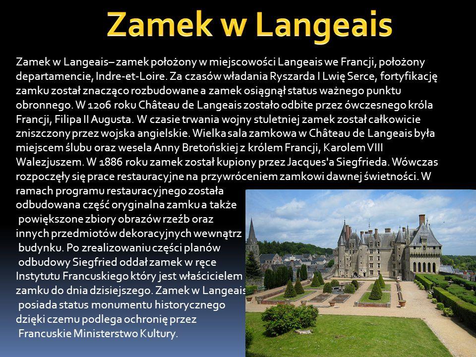 Zamek w Langeais