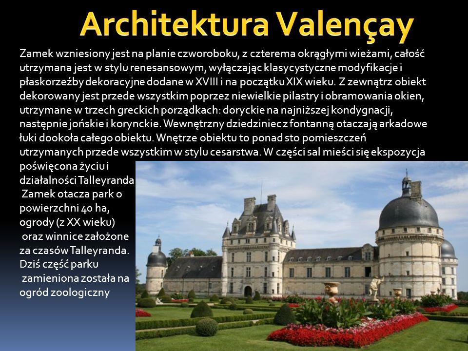 Architektura Valençay