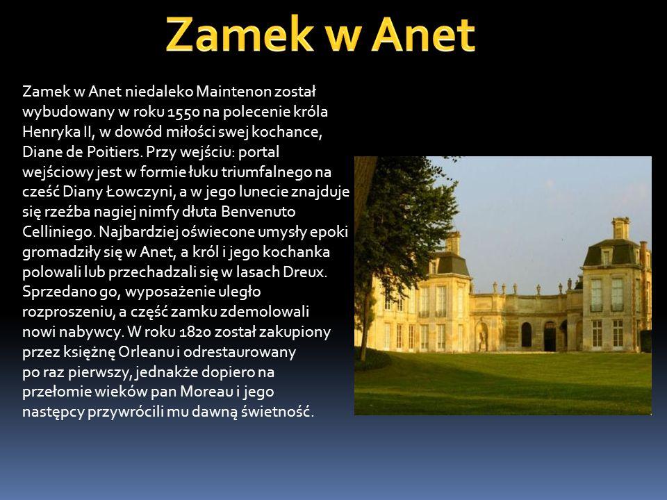 Zamek w Anet