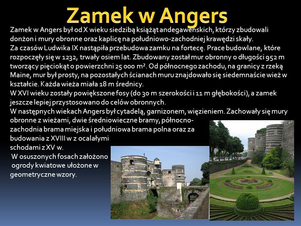 Zamek w Angers