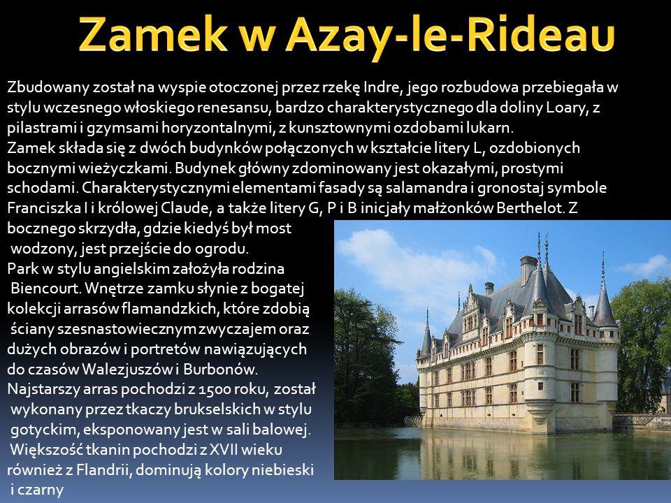 Zamek w Azay-le-Rideau