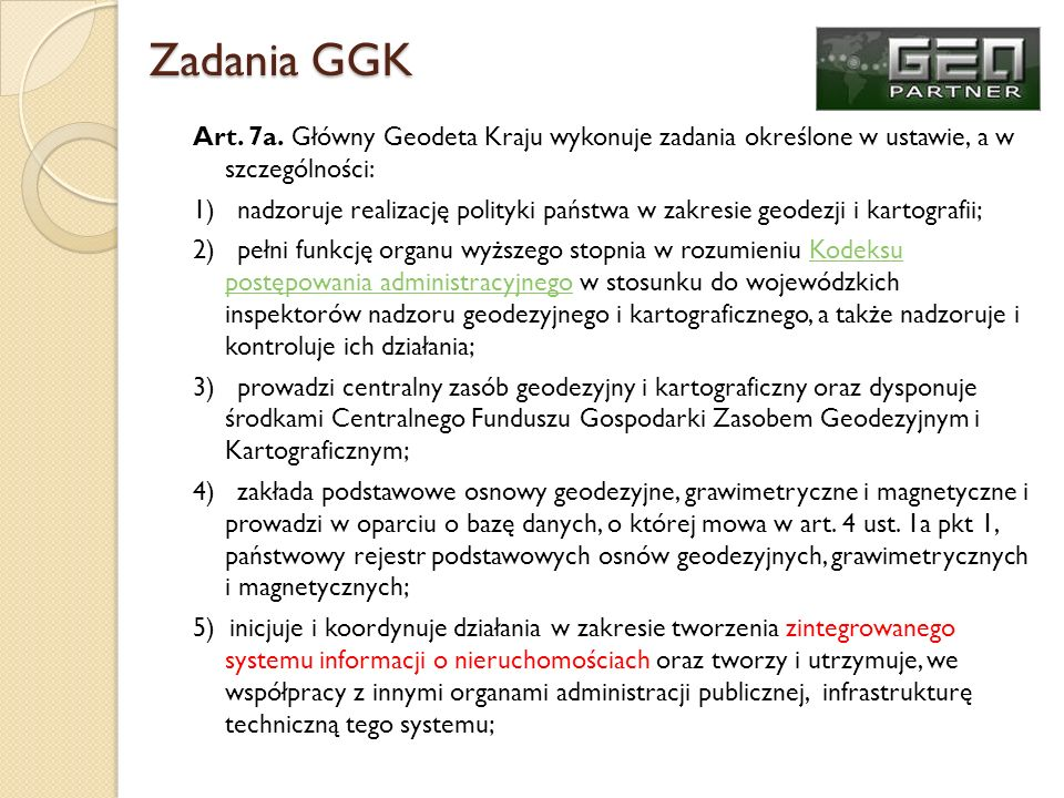 Zadania GGK