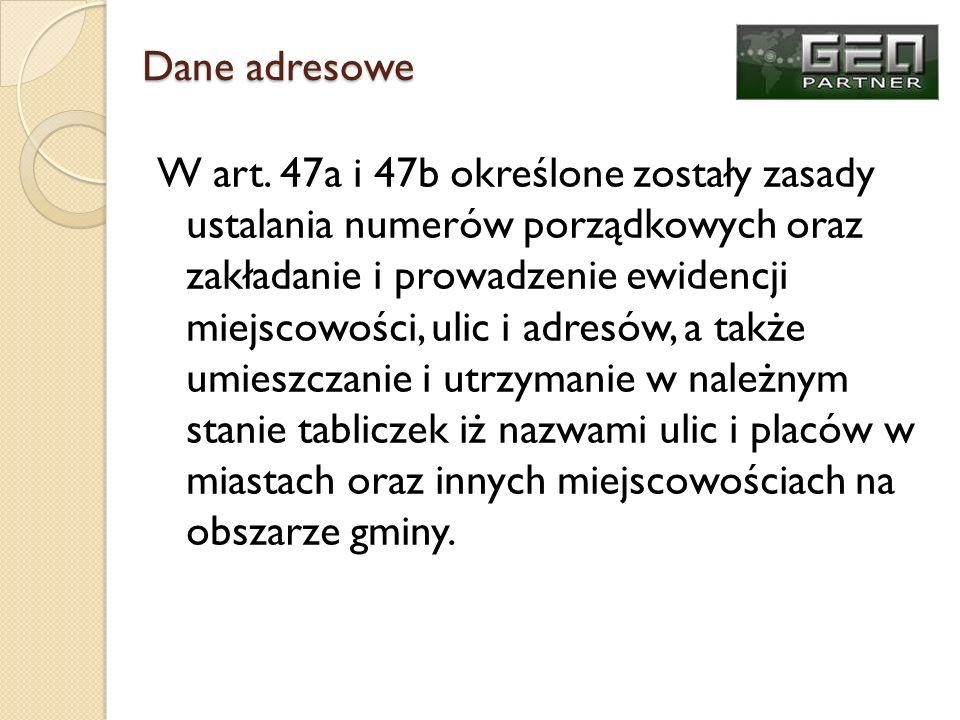 Dane adresowe
