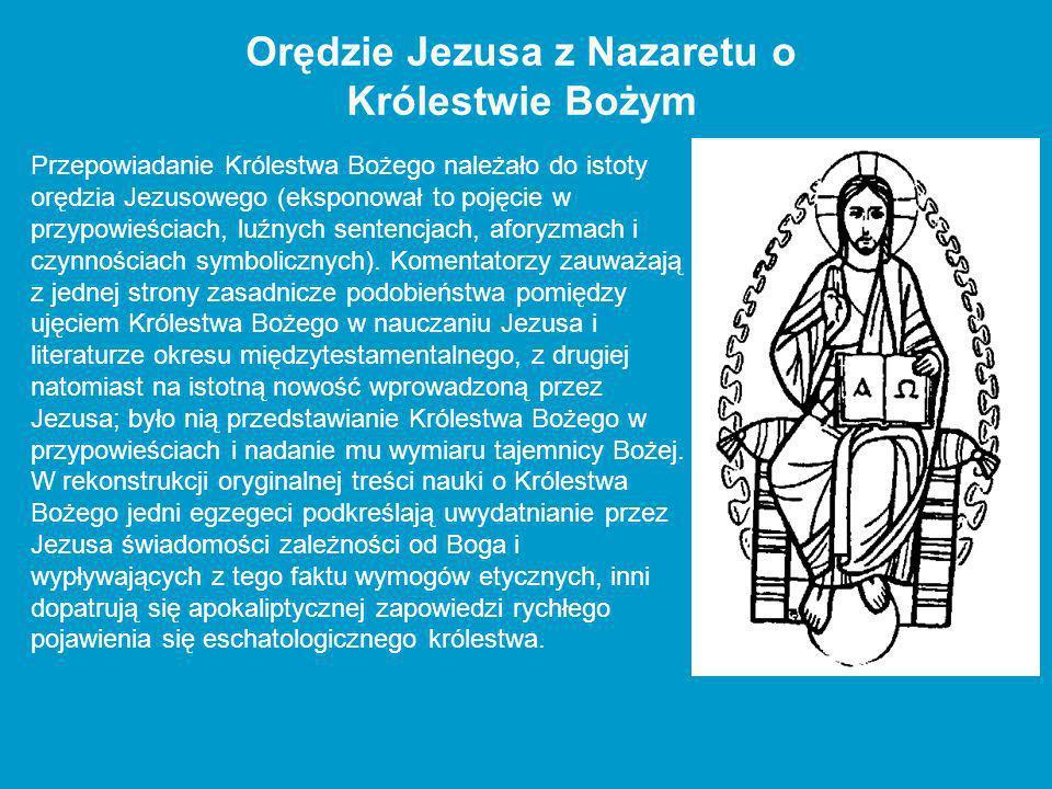 Orędzie Jezusa z Nazaretu o Królestwie Bożym
