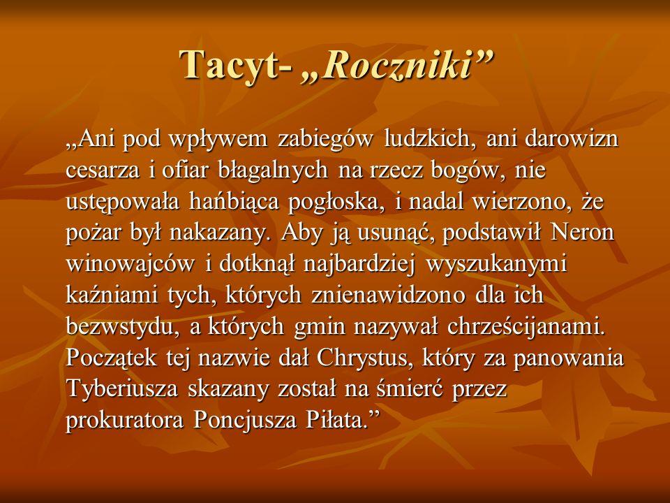 """Tacyt- """"Roczniki"""