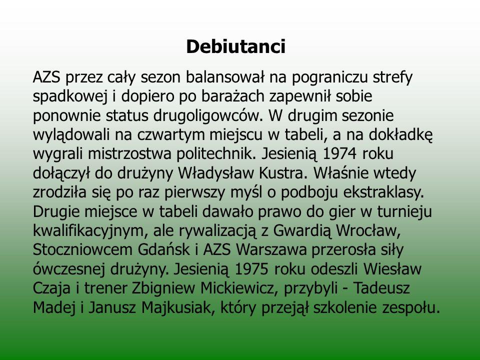 Debiutanci