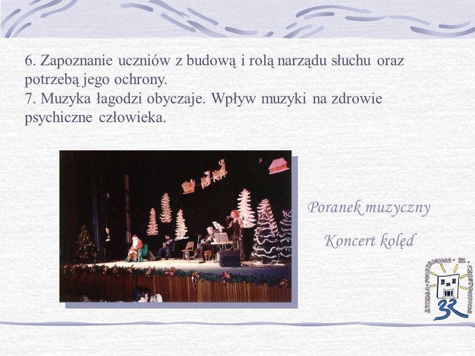 Poranek muzyczny Koncert kolęd