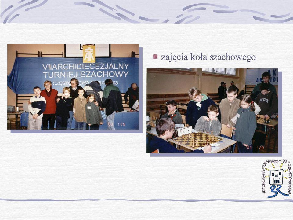 zajęcia koła szachowego