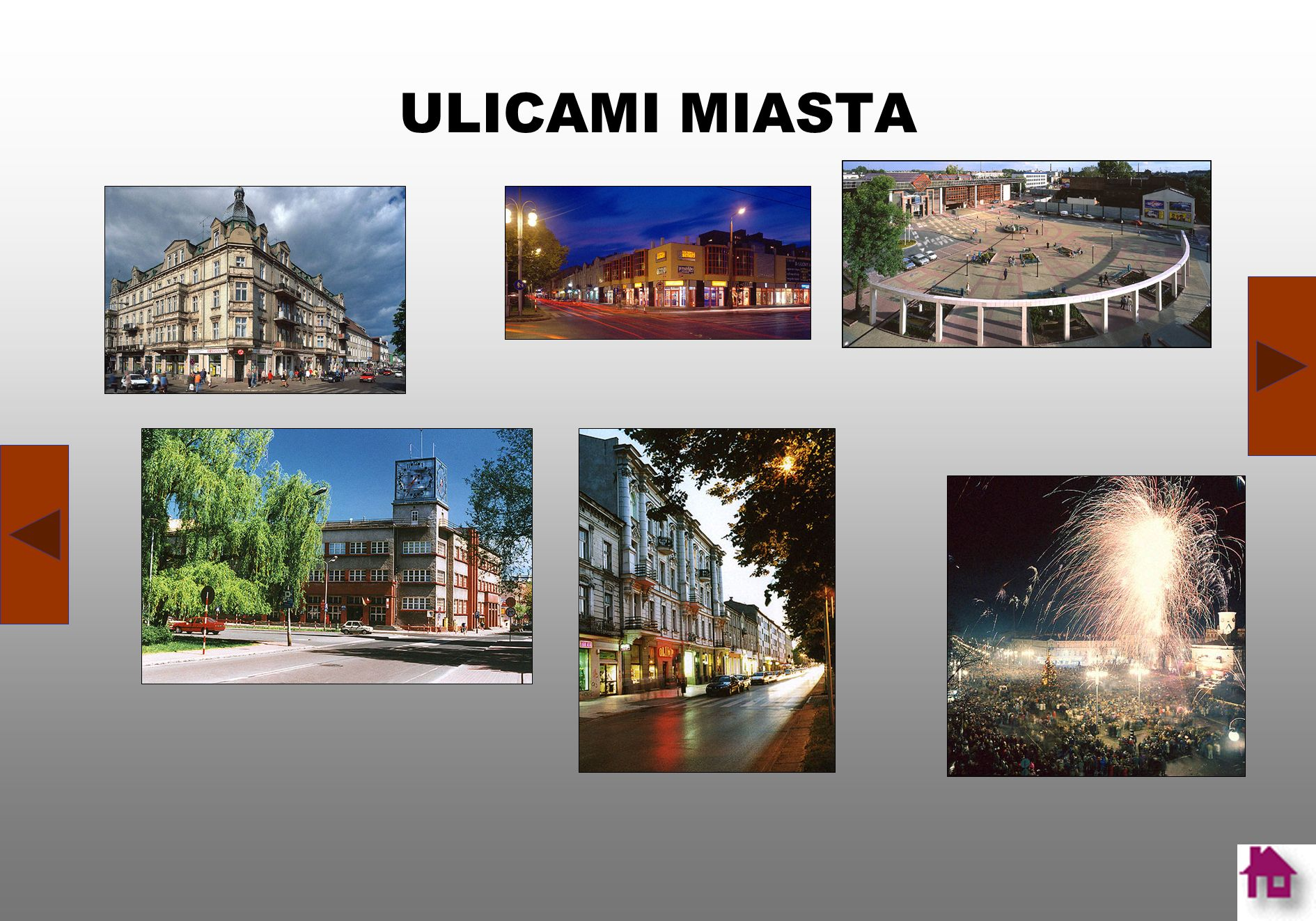 ULICAMI MIASTA