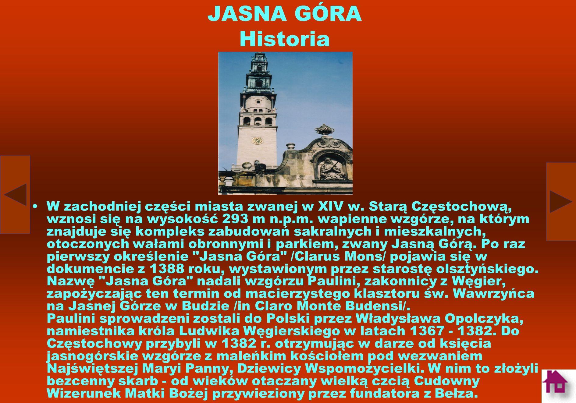 JASNA GÓRA Historia