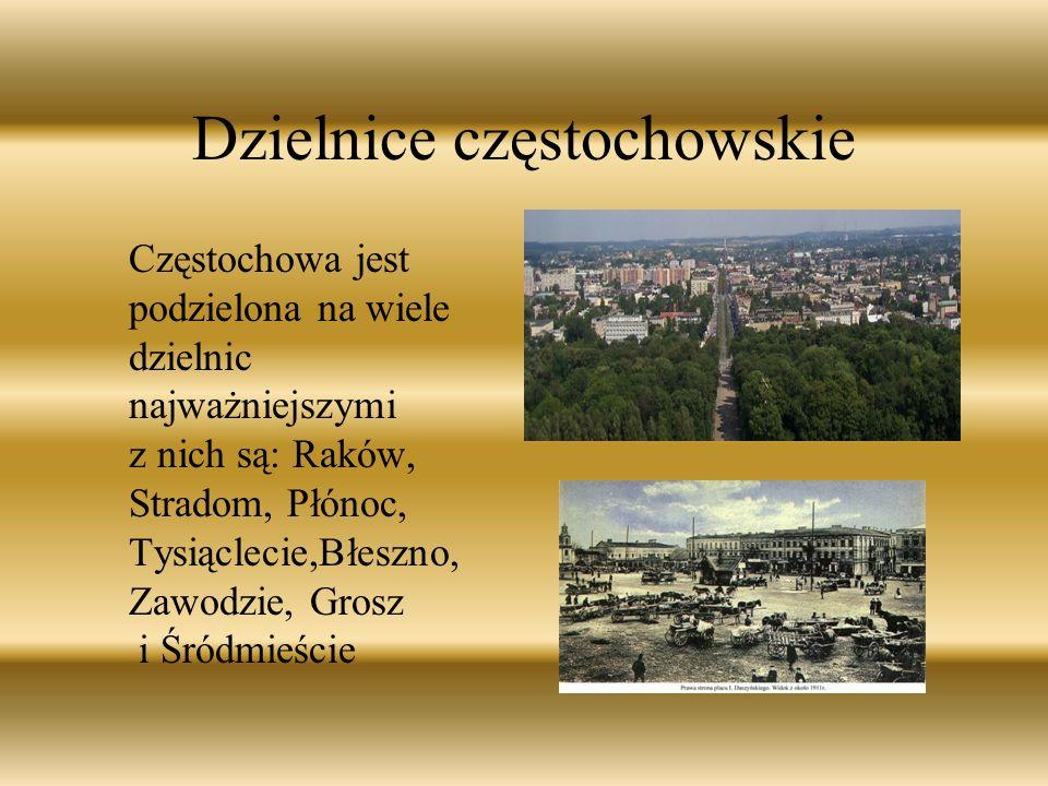 Dzielnice częstochowskie