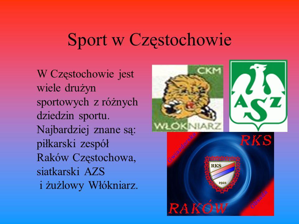 Sport w Częstochowie