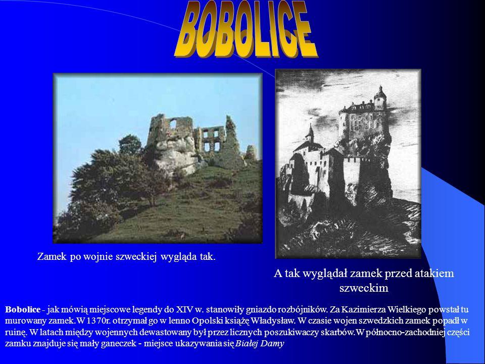 A tak wyglądał zamek przed atakiem szweckim