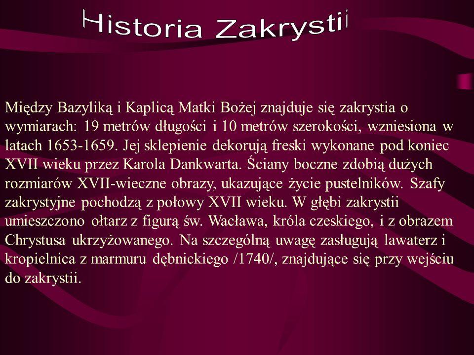 Historia Zakrystii