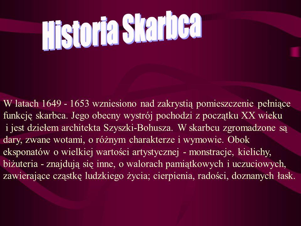 Historia Skarbca