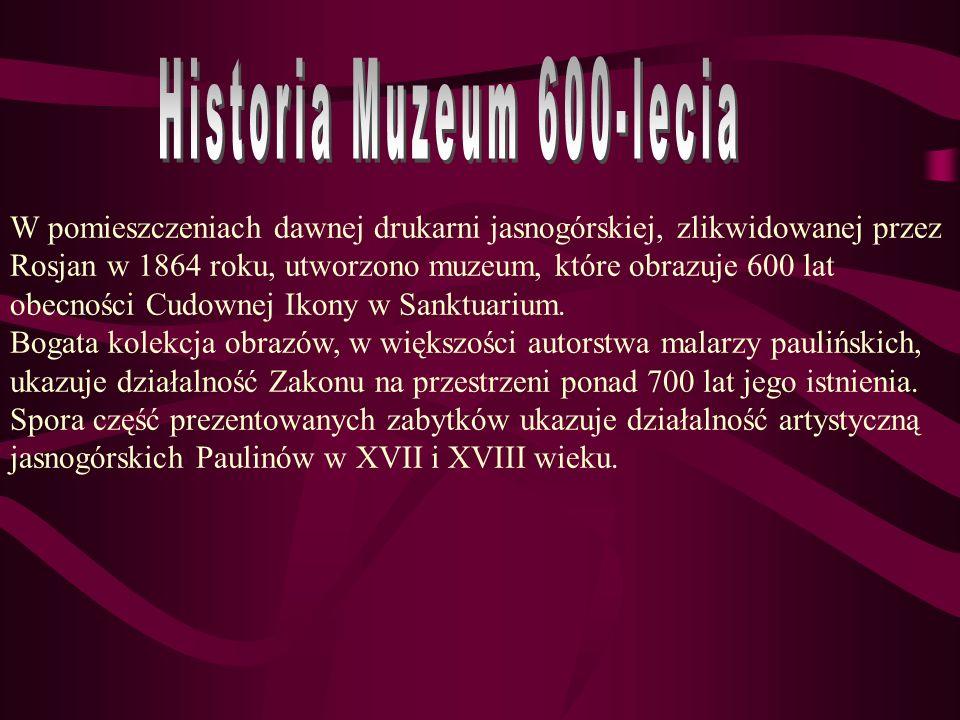 Historia Muzeum 600-lecia