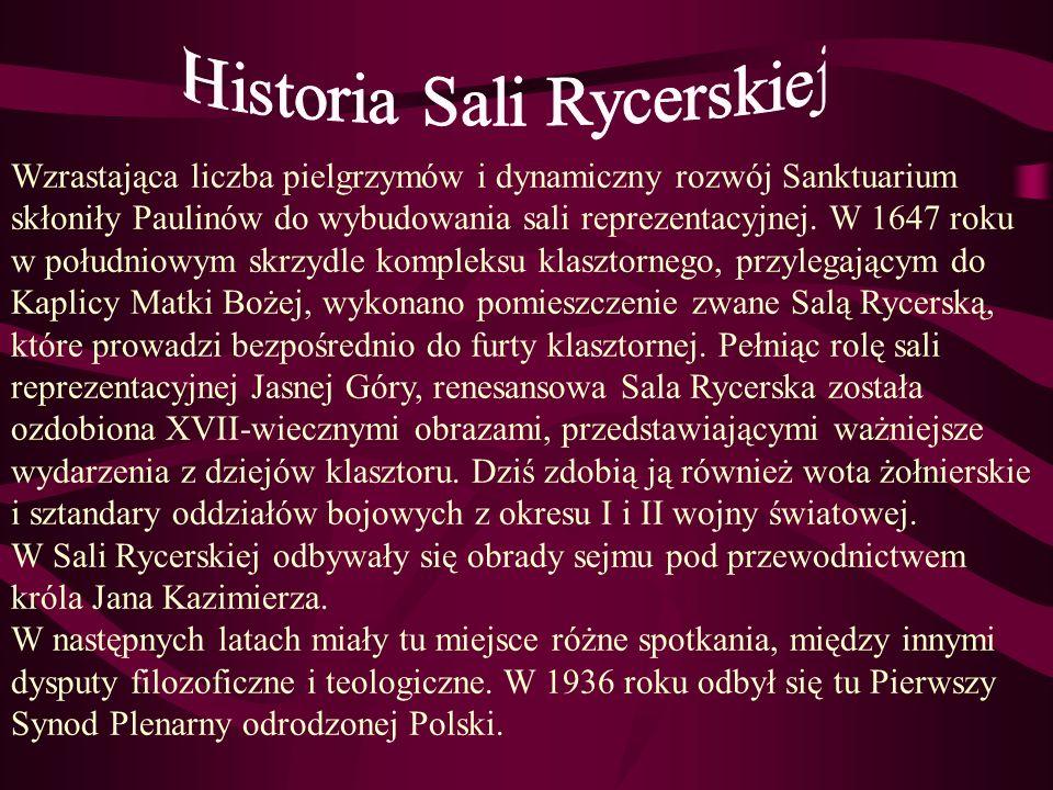 Historia Sali Rycerskiej