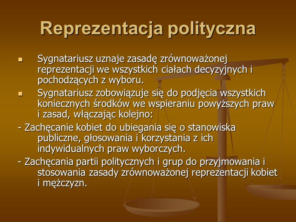 Reprezentacja polityczna