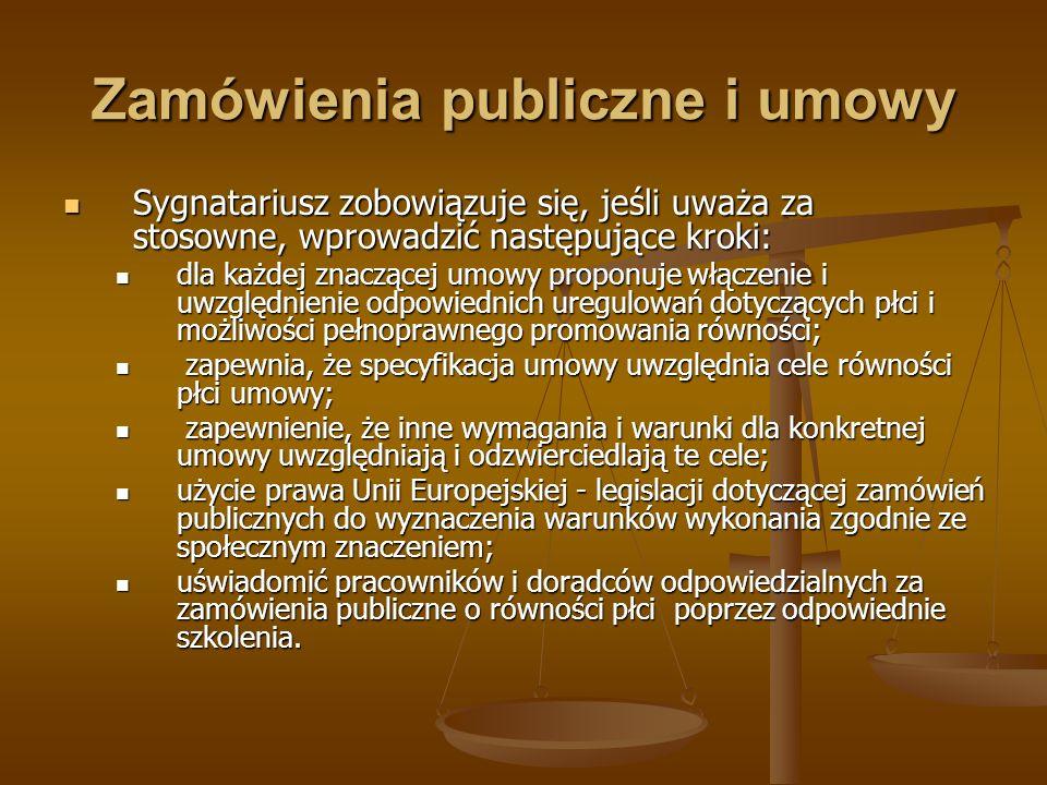 Zamówienia publiczne i umowy