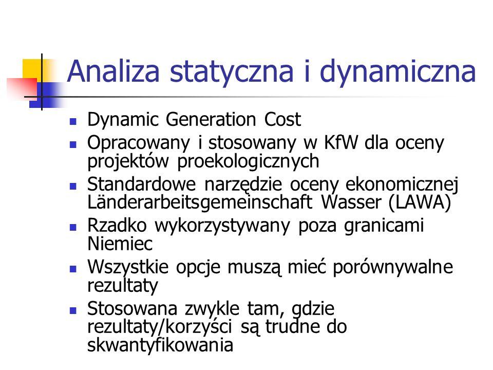 Analiza statyczna i dynamiczna