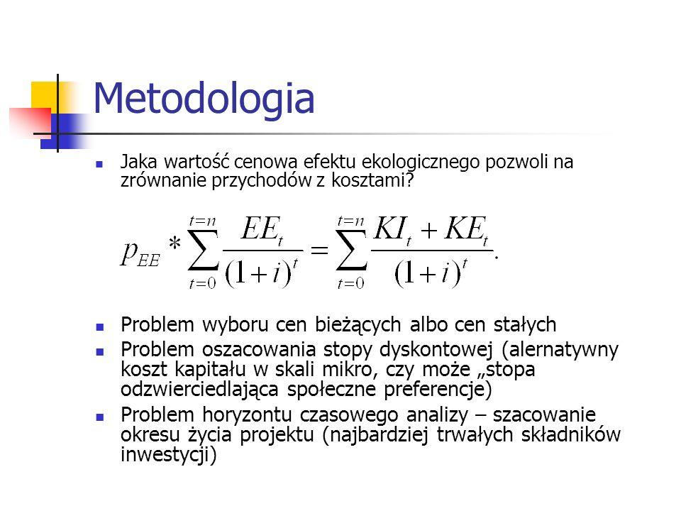 Metodologia Problem wyboru cen bieżących albo cen stałych