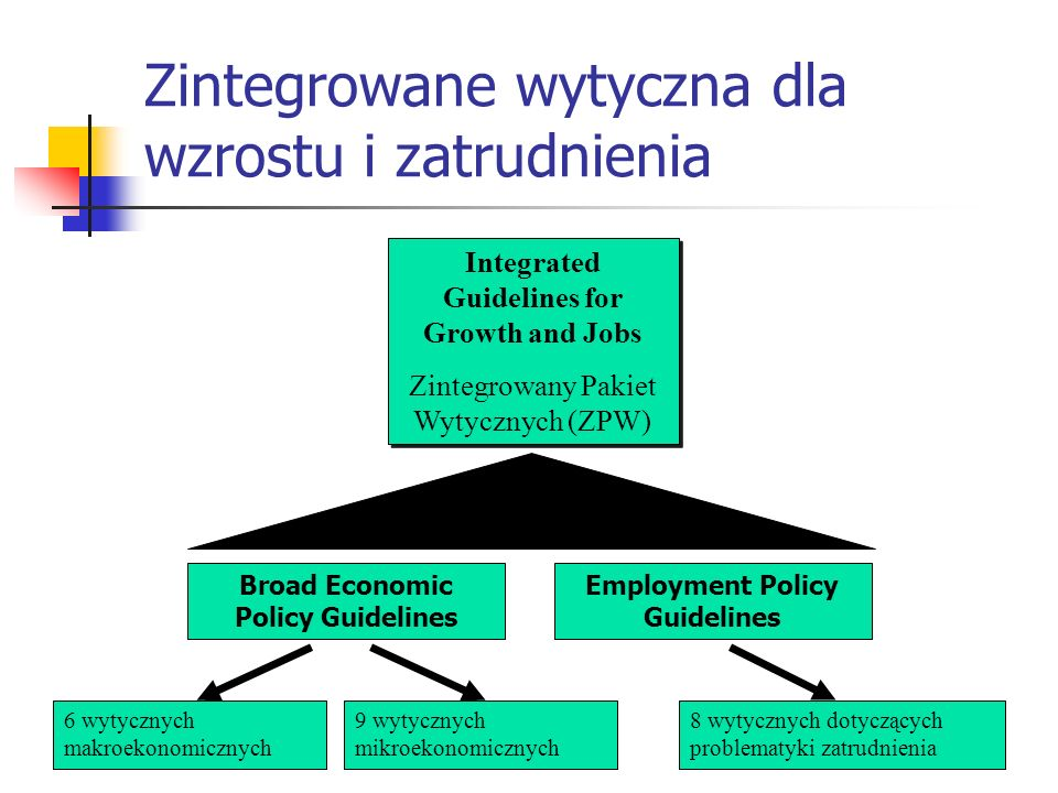 Zintegrowane wytyczna dla wzrostu i zatrudnienia