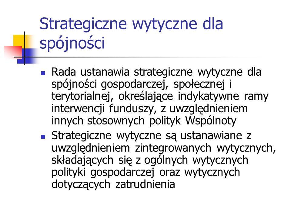 Strategiczne wytyczne dla spójności