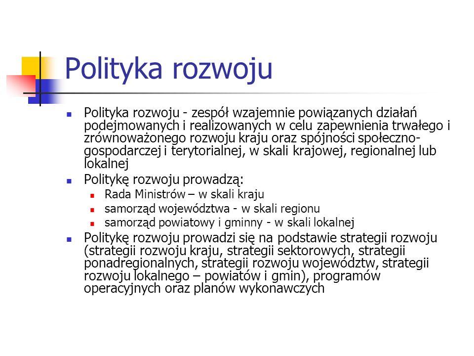 Polityka rozwoju