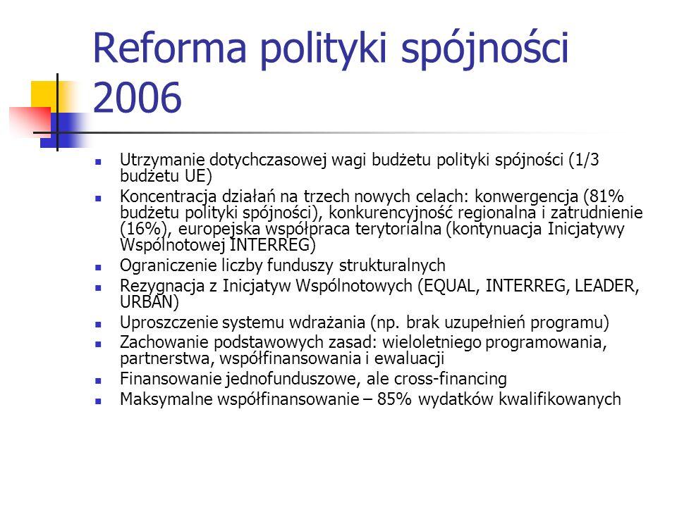 Reforma polityki spójności 2006